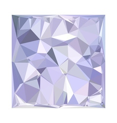 Lavender Abstract Low Polygon Background vector image
