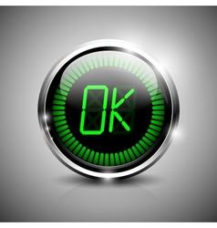 Ok symbol vector