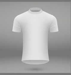 Shirt template for jersey vector