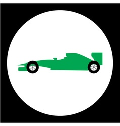 Simple sport formula isolated black icon eps10 vector