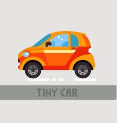 Tiny car vector