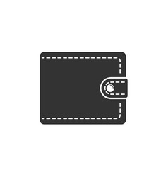 wallet icon male icon in simple style vector image