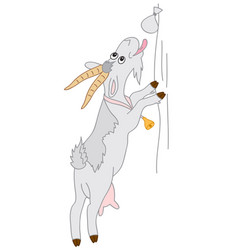 cartoon goat vector image vector image