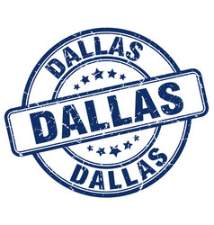 Dallas stamp vector