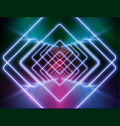 high-detailed neon light background vector image