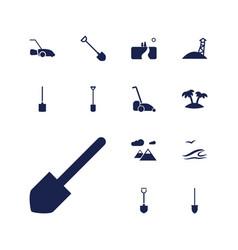 Landscape icons vector