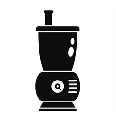Small food mixer icon simple style vector