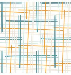 Summer tropical geometric seamless pattern bright vector
