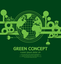 Green Concept vector image vector image
