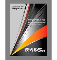 business brochure flyer template vector image vector image