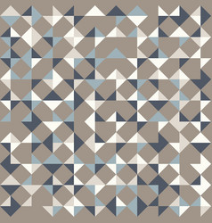 Abstract geometric background in neutral colors vector