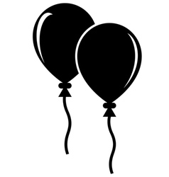 Balloon Icon vector image