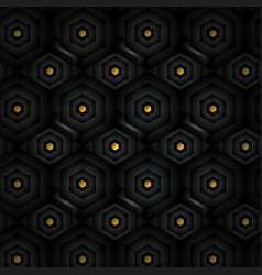 black abstract tech geometric modern seamless vector image