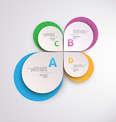 Design circle template vector