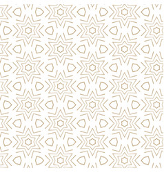 Elegant abstract pattern in gold color vector