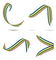 Olympic ribbon vector