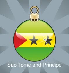 seo tome and Principe flag vector image