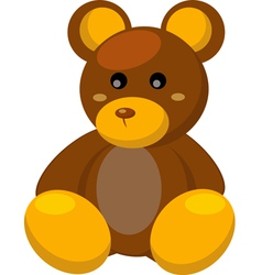 toy bear vector image