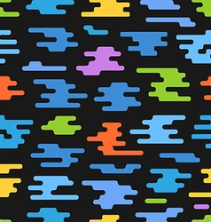 Abstract seamless pattern of different color vector image vector image