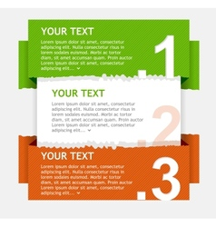 speech templates for text vector image vector image