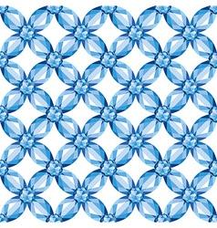 Flower Mesh sapphires seamless texture vector image