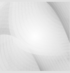 wave gray and white color for business concept vector image vector image