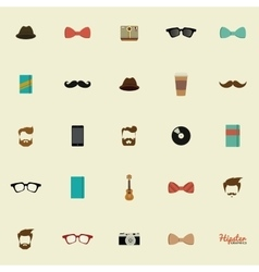 Abstract Hipster Icons vector