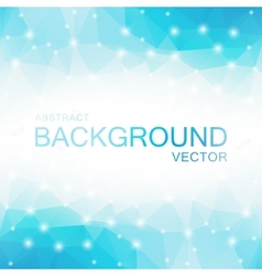 Abstract Polygon Blue Background vector
