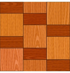 seamless light oak square parquet panel texture vector image