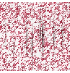 abstract background Triangles white vector image
