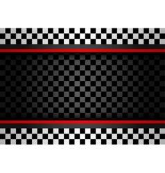 Racing horizontal backdrop vector image vector image