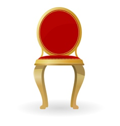 retro chair vector image