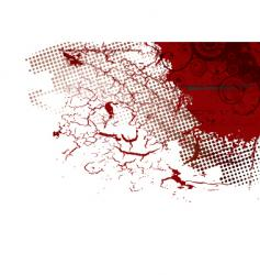 abstract blood vector image vector image