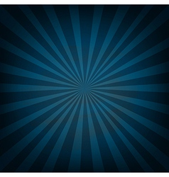 Retro Vintage Square Blue Sunburst vector image vector image