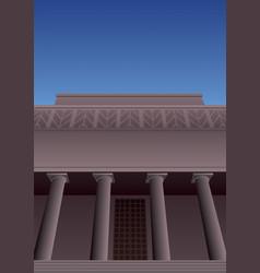 Art deco museum 3 vector