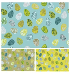 eggs patterns vector image vector image