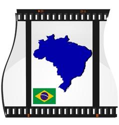 film shots brazil vector image