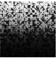 Halftone gradient pattern background halftone vector