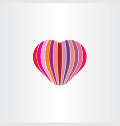 heart love valentine icon sign vector image