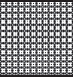 Retro pattern with grey black and white vector