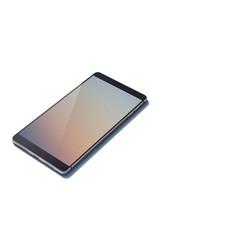 Stylish modern design single cellphone concept vector