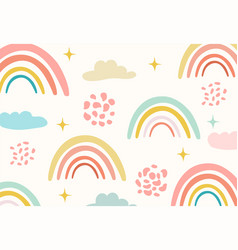 trendy baby texture for fabric textile wallpaper vector image