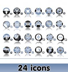 set of original web icons vector image vector image