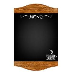 Restaurant Menu Board vector image