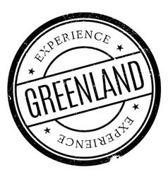 Greenland stamp rubber grunge vector