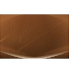 A brown background vector image