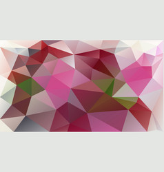 Abstract polygonal background rose pink mauve vector