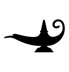 Aladdin lamp vector