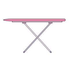 ironing board isolated icon vector image