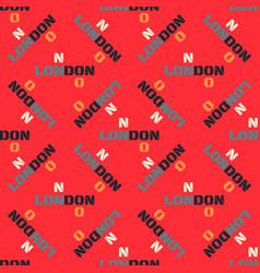 London pattern seamless design vector